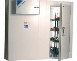 Modular flat-pack walk-in coldroom or freezer